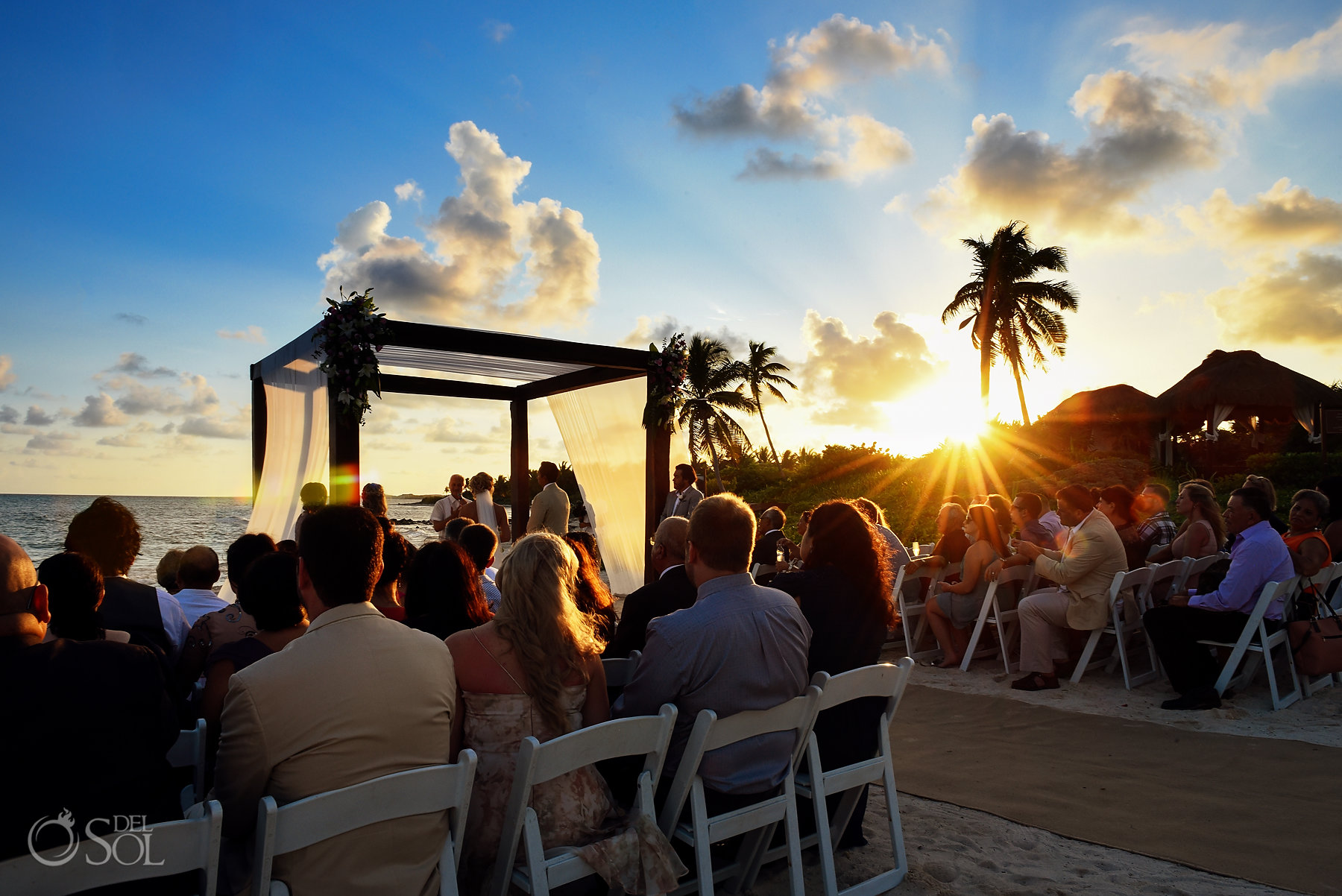 Dreams Sunset Wedding Tulum Mexico