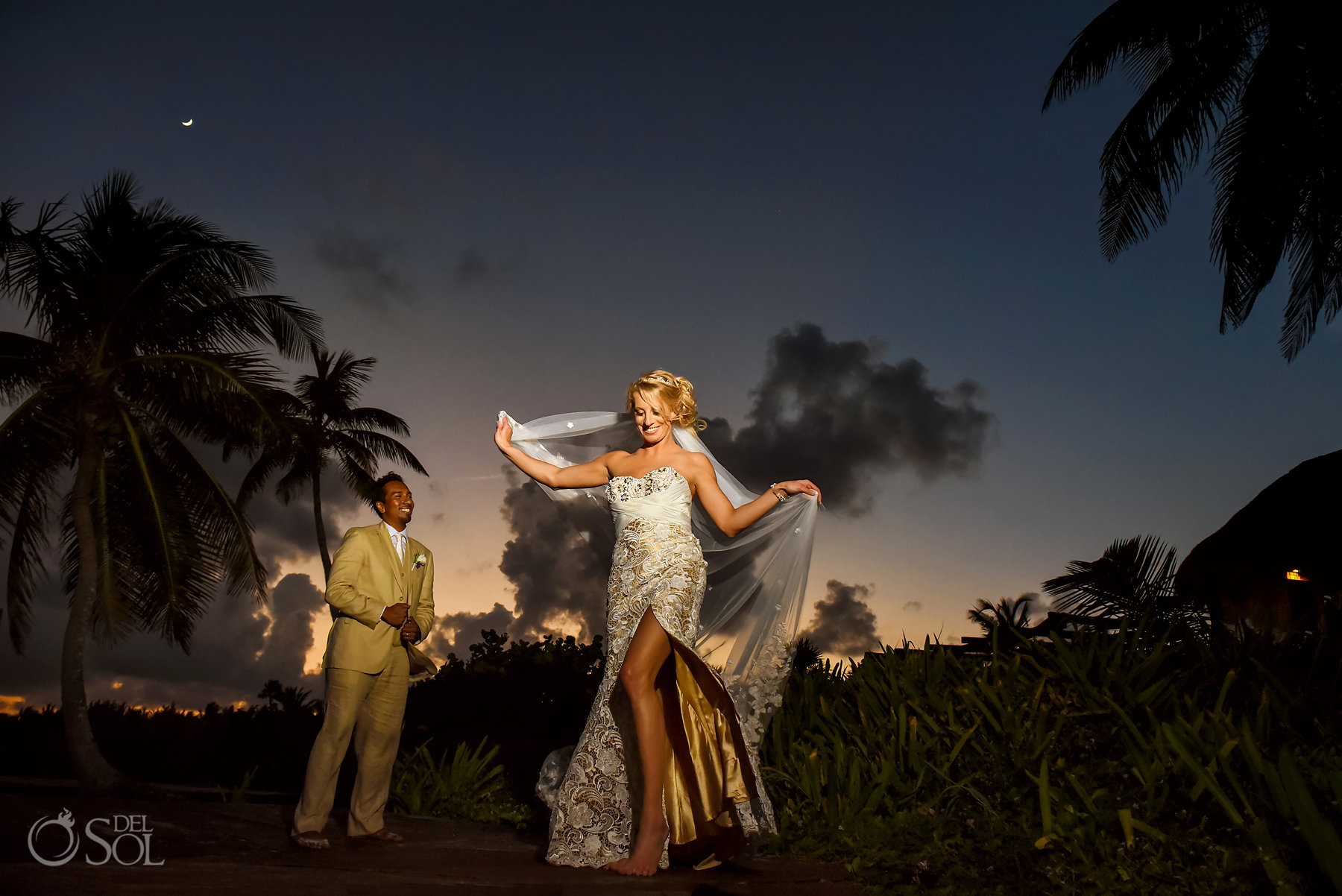 Dreams Tulum Sunset portraits