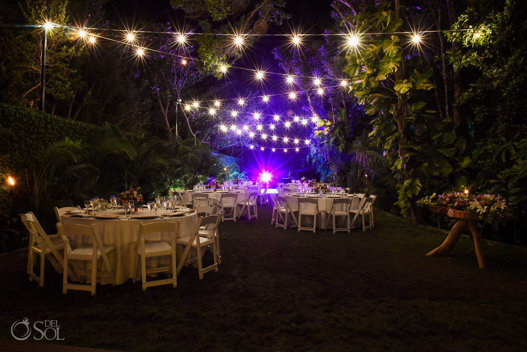 Dreams Tulum Secret Garden Wedding Reception