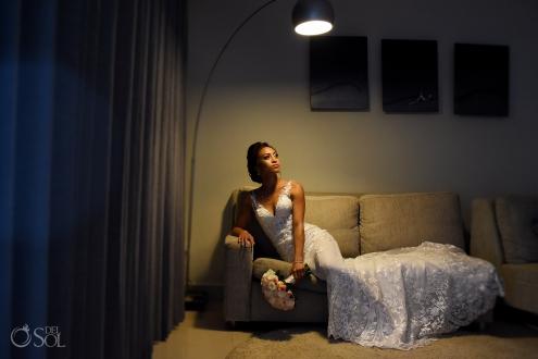 Breathtaking Bride Portrait Estee Couture Mermaid Embroidery Wedding Dress Secrets Silversands Luxury Suit