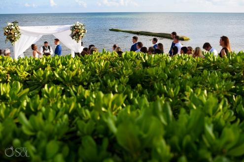 Secrets Silversands Beach Front Wedding Decoration