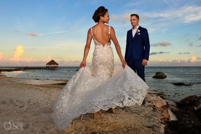 Secrets Silversands wedding photo