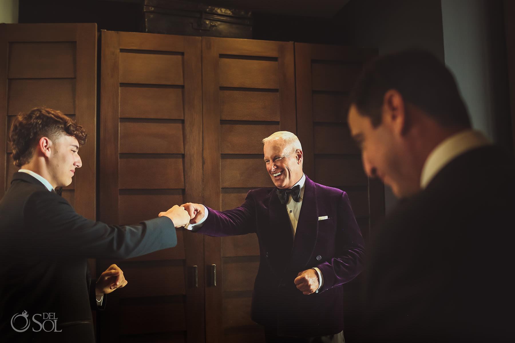 Nizuc Cancun wedding groom