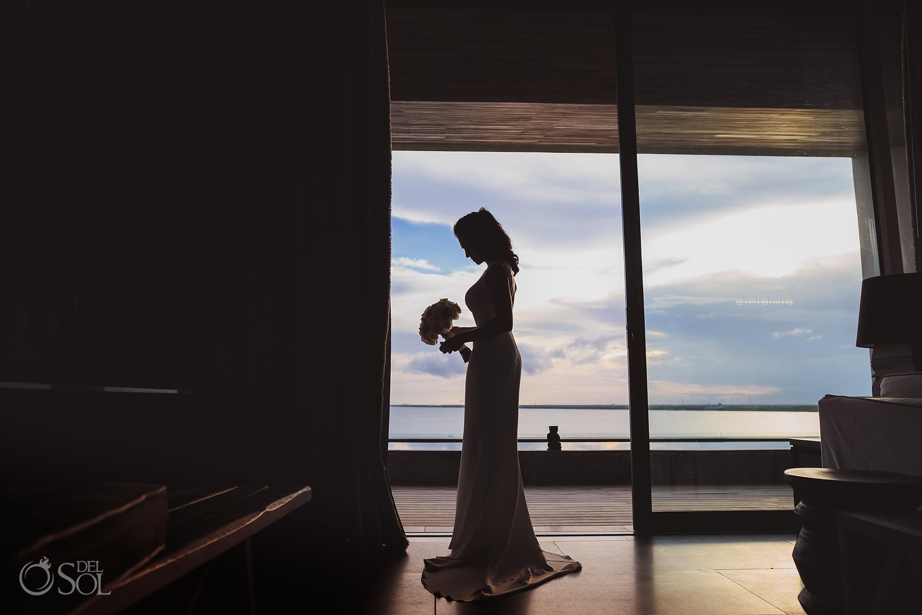 Bridal photo for a Nizuc Cancun wedding