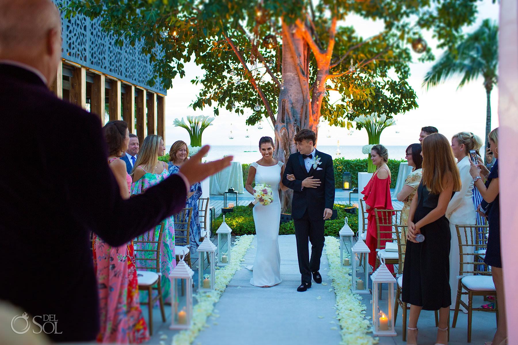 Nizuc Cancun wedding ceremonies