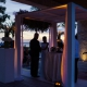 Cancun Sunset wedding ceremony Nizuc Akan Terrace
