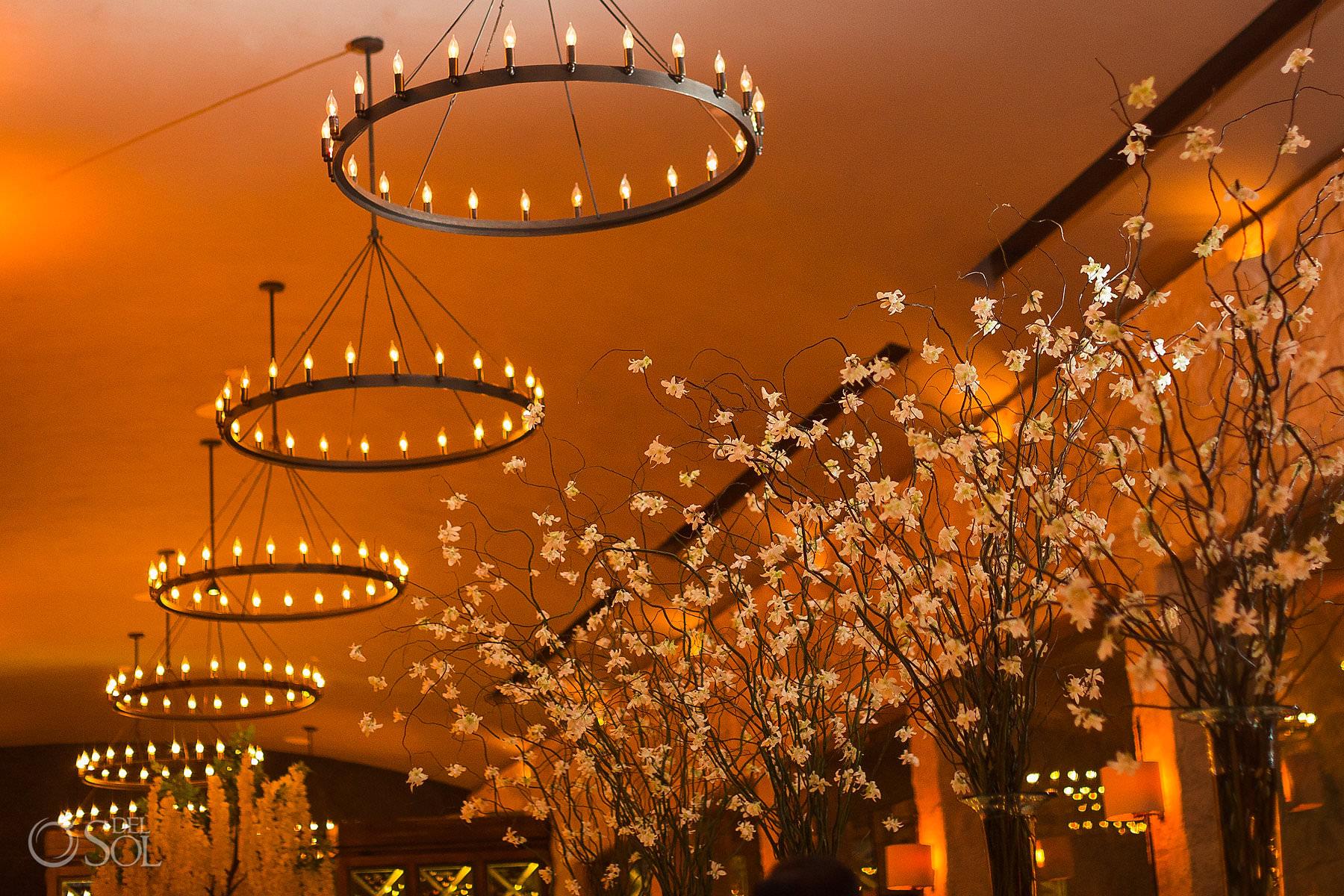 Nizuc Cancun Luxury wedding reception decoration decor