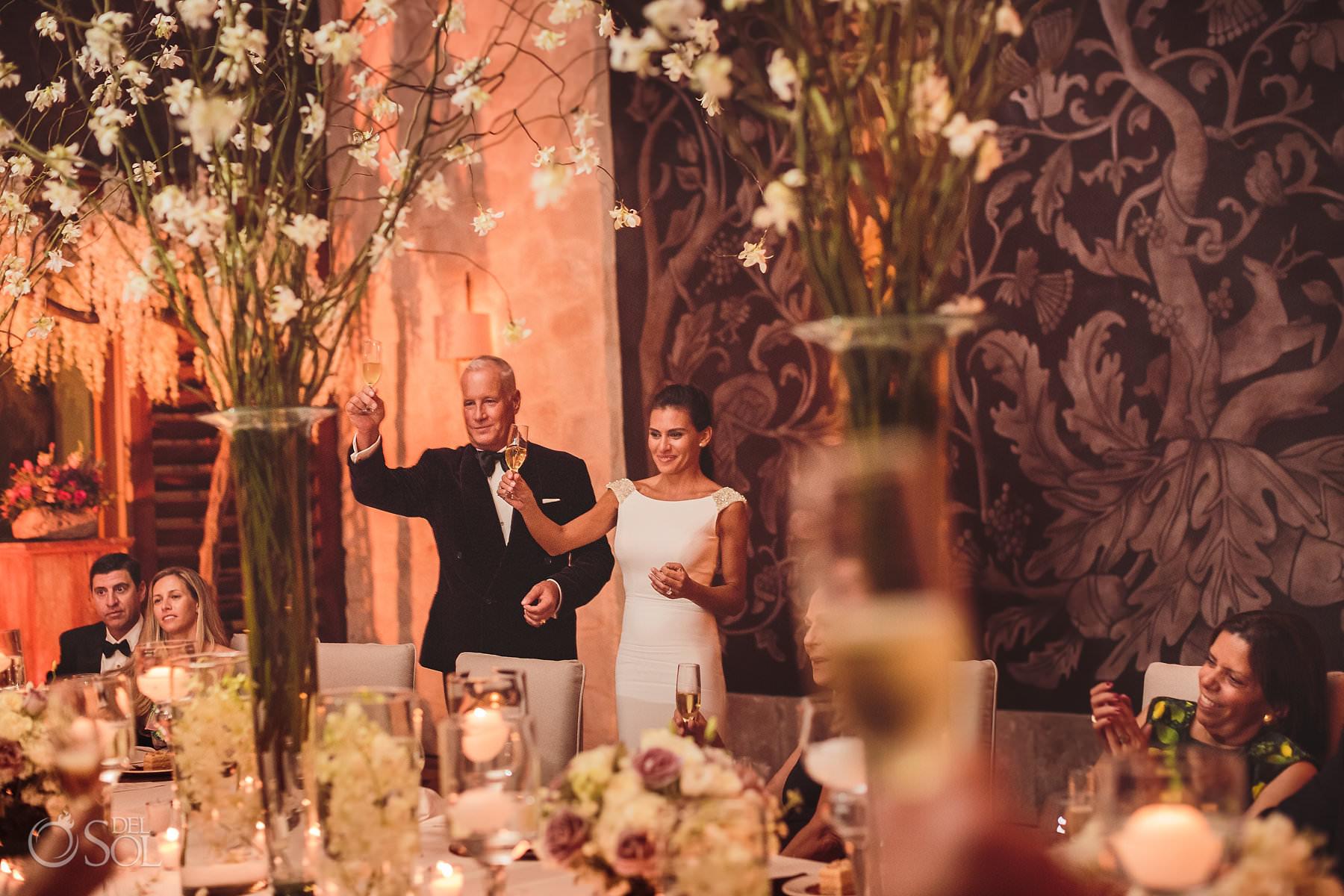 Nizuc Cancun wedding reception decoration design