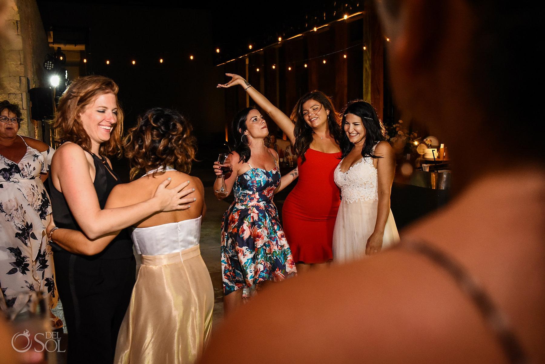 Party Reception Same Sex Nizuc Wedding