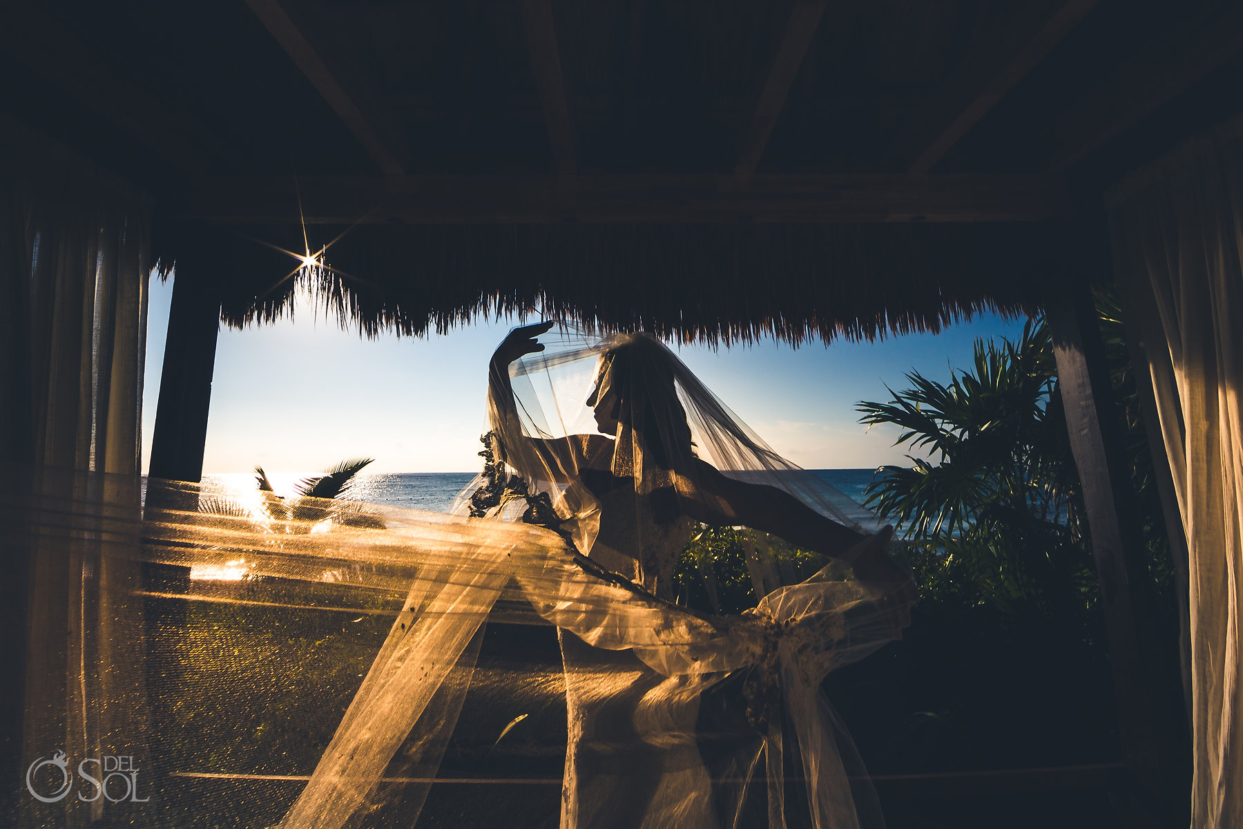 tulum sunrise experience trash the dress photos