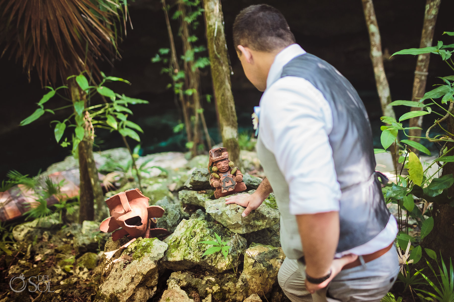 tulum cenote experience mayan artifacts