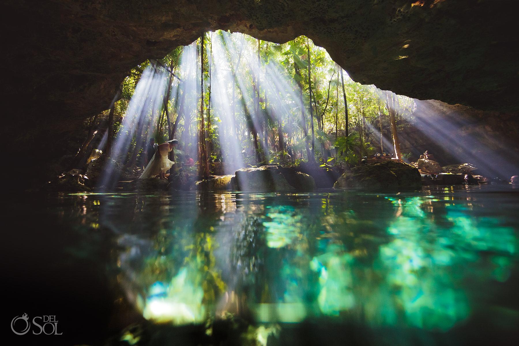 sacred mayan Tulum Cenote Experience