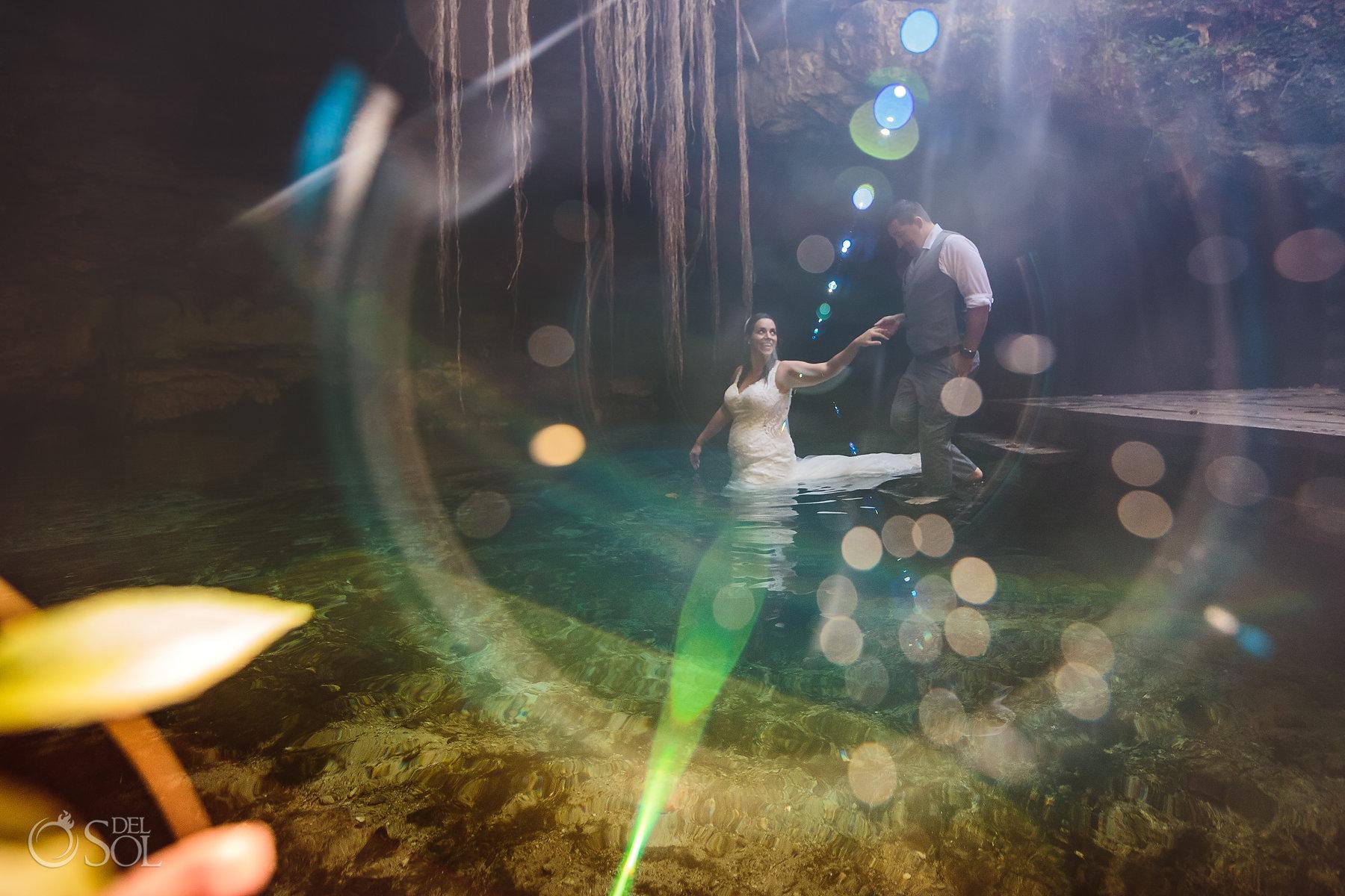 epic flare Tulum Cenote Experience