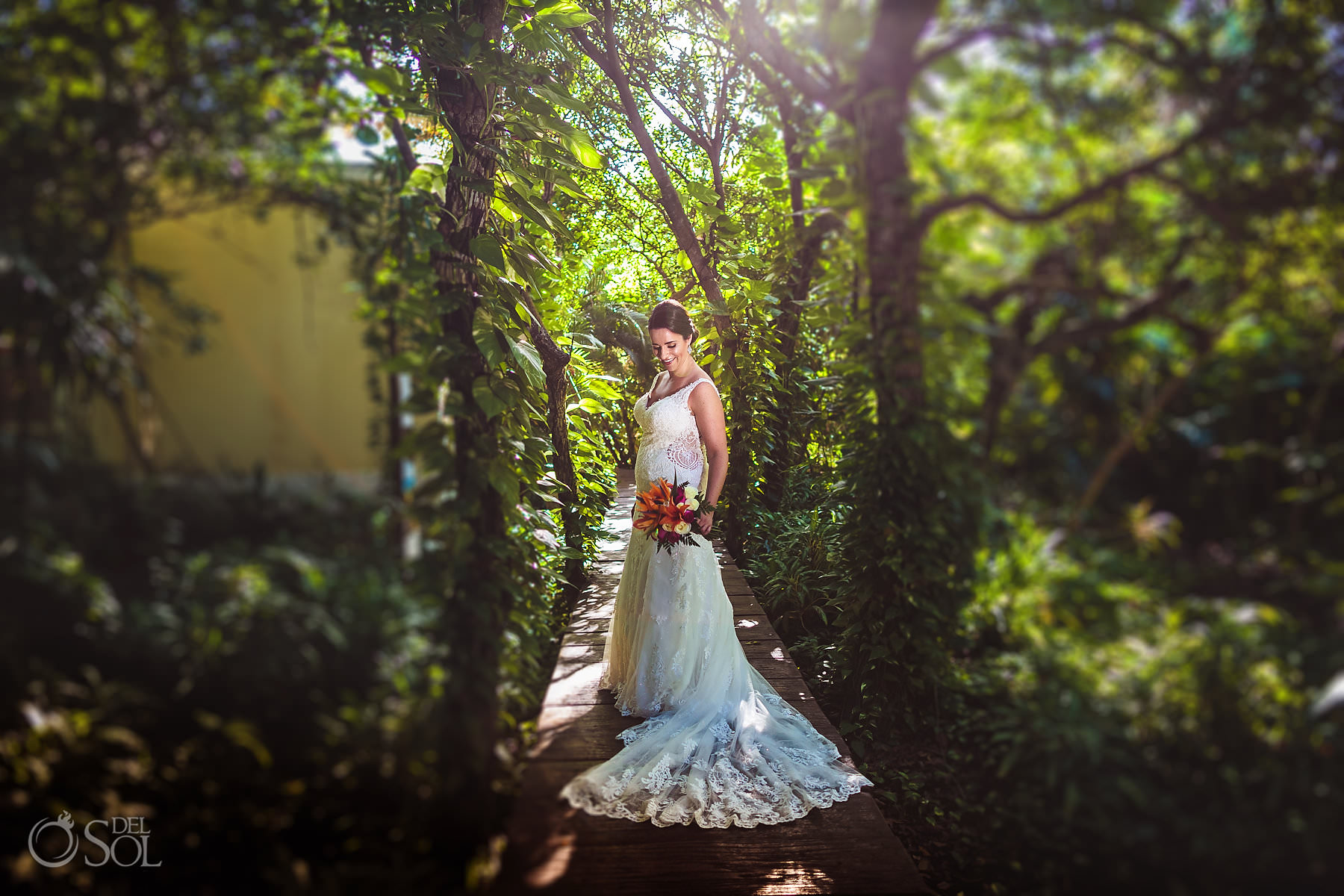 Dreams Tulum Jungle Bride Photoshoot Stella York Bridal Dress