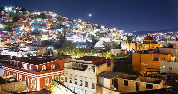 Skyline Casa del Rector Guanajuato