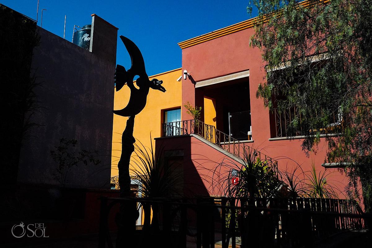 Art sculpture Casa del Rector Guanajuato Photo by Del Sol Photography