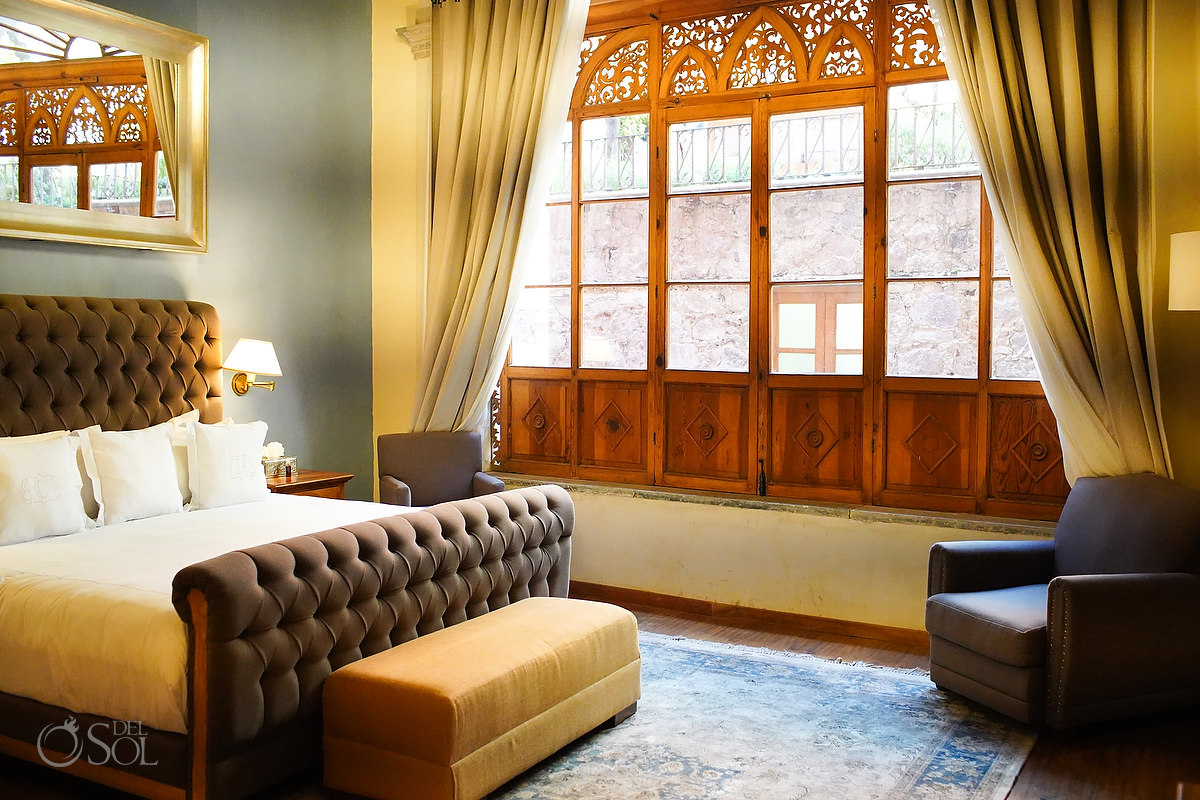 Suites hotel room at Casa del Rector Guanajuato Photo by Del Sol Photography