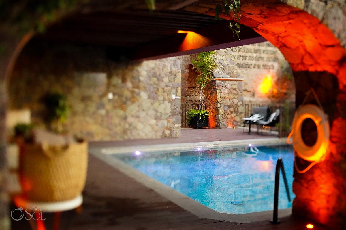 Swimming Pool Casa del Rector Guanajuato Photo by Del Sol Photography