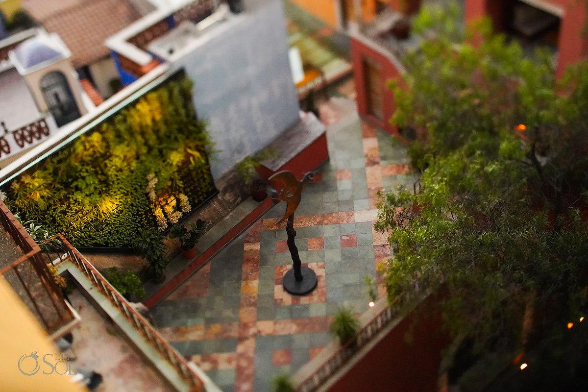 Courtyard at Casa del Rector Guanajuato Photo by Del Sol Photography