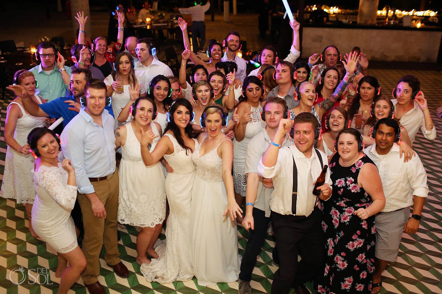 Queer Silent Disco Wedding