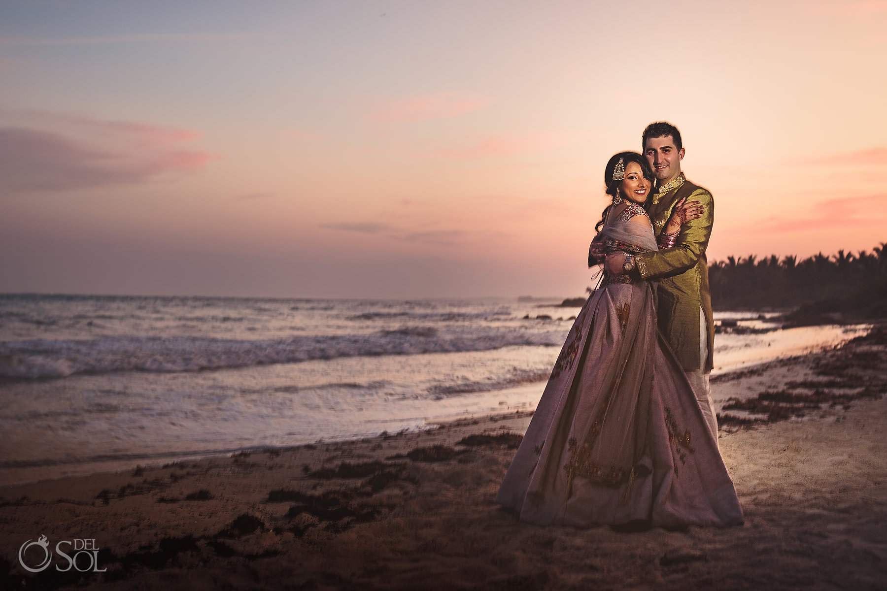 Indian Fusion wedding photos Riviera Maya Dreams Tulum