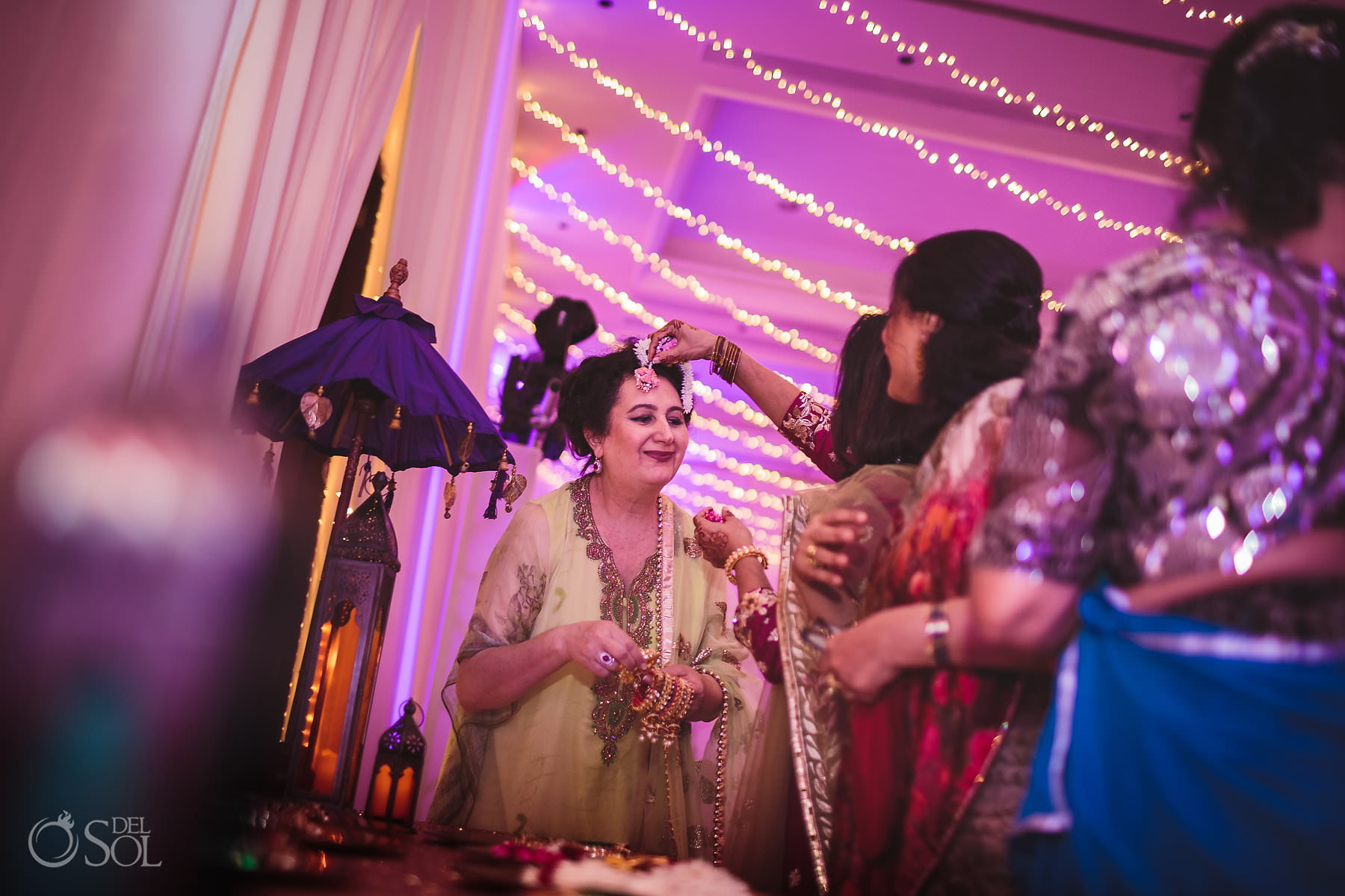 dulha-dulhan package sangeet mehendi Dreams Tulum Hindu wedding