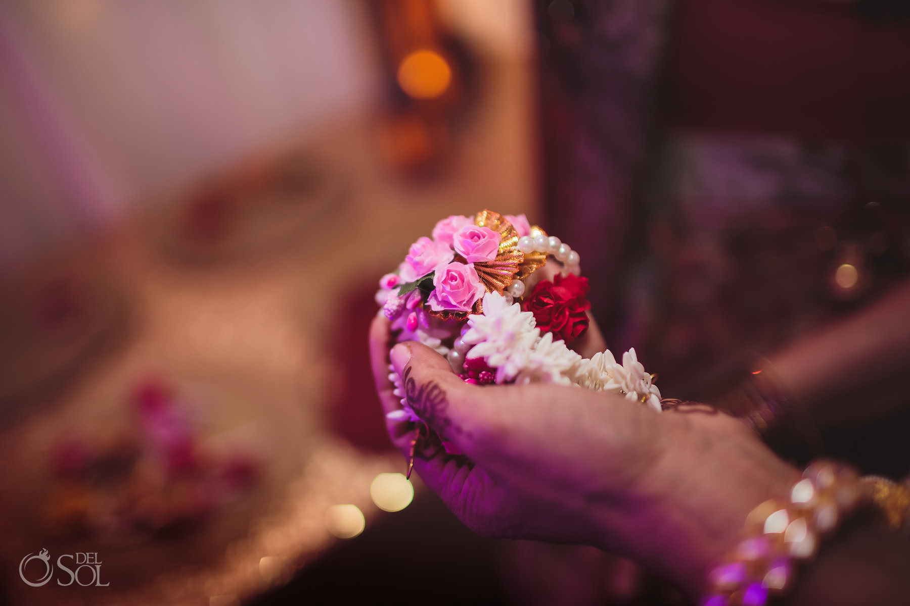 Dreams Tulum Hindu wedding Sangeet details