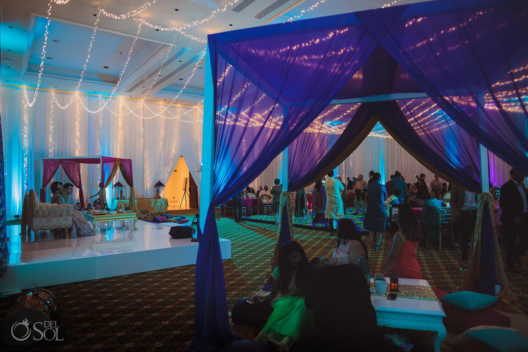Dreams Tulum Resort South Asian Weddings Shaadi Package Sangeet Plaza Mexicana