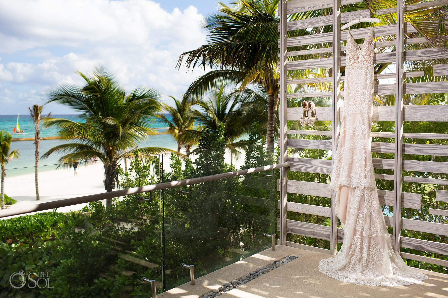 Caribbean Wedding dress Andaz Mayakoba