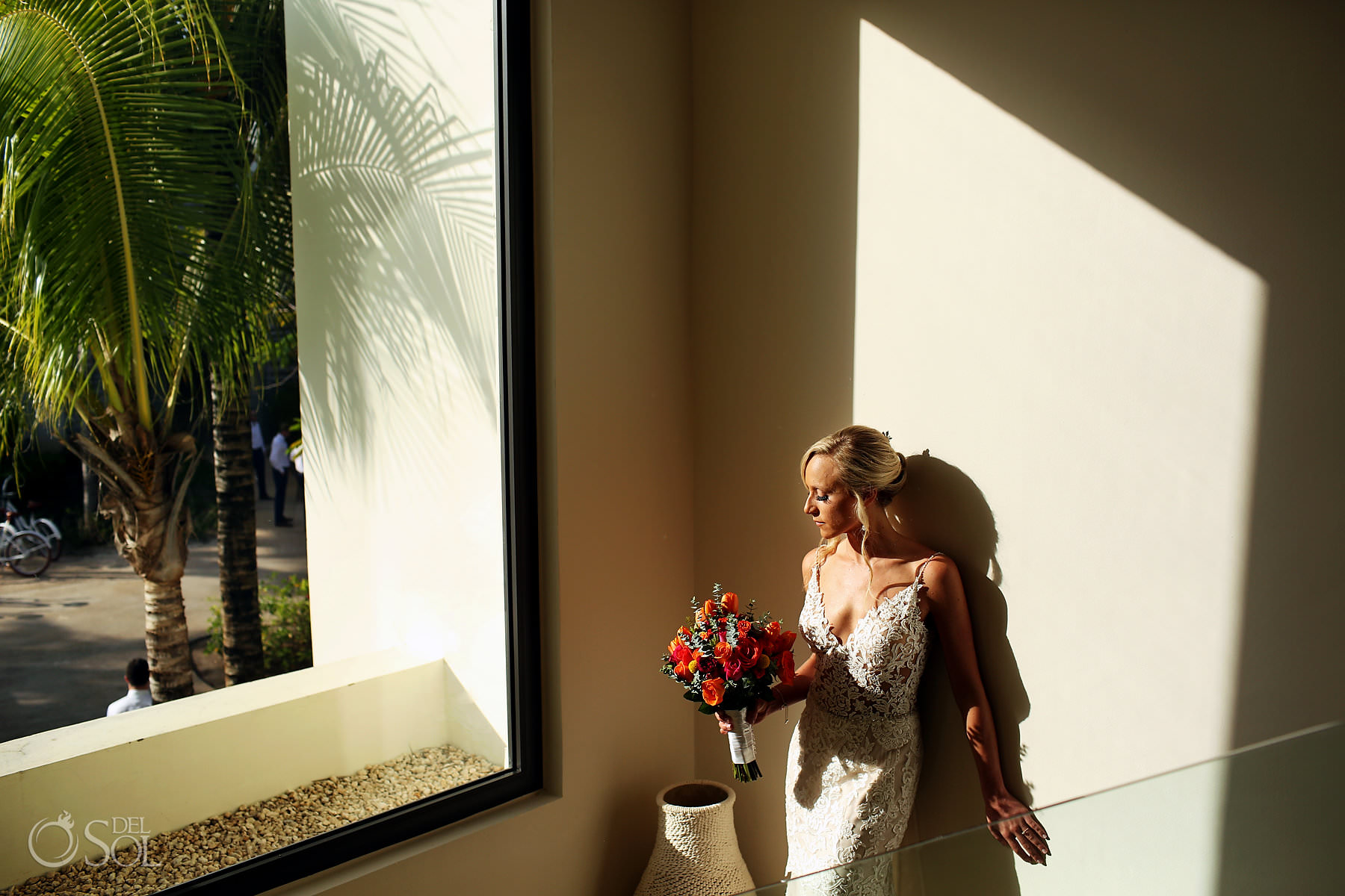 bridal portrait Andaz Mayakoba Wedding