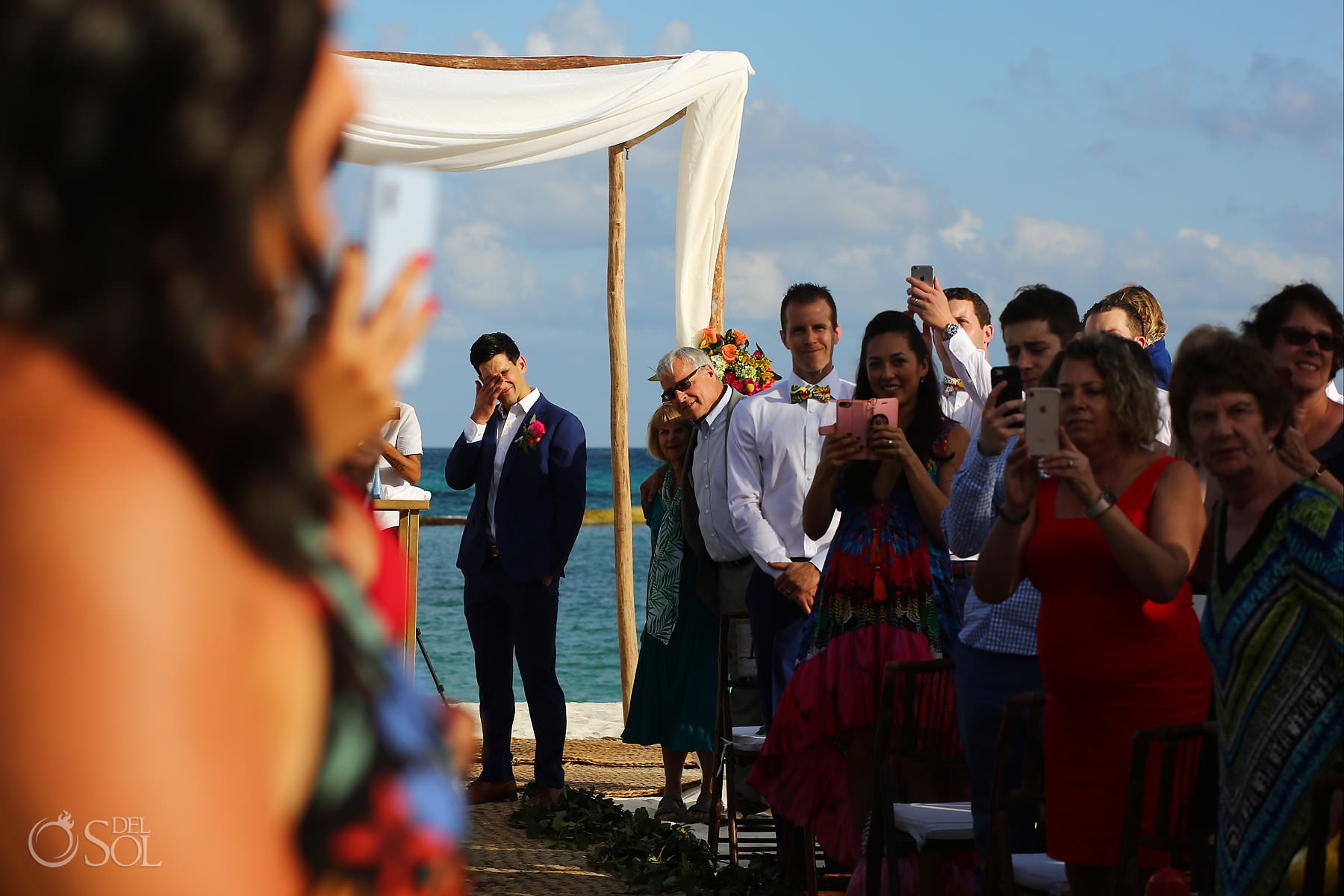 Andaz Mayakoba Wedding Ceremony first look