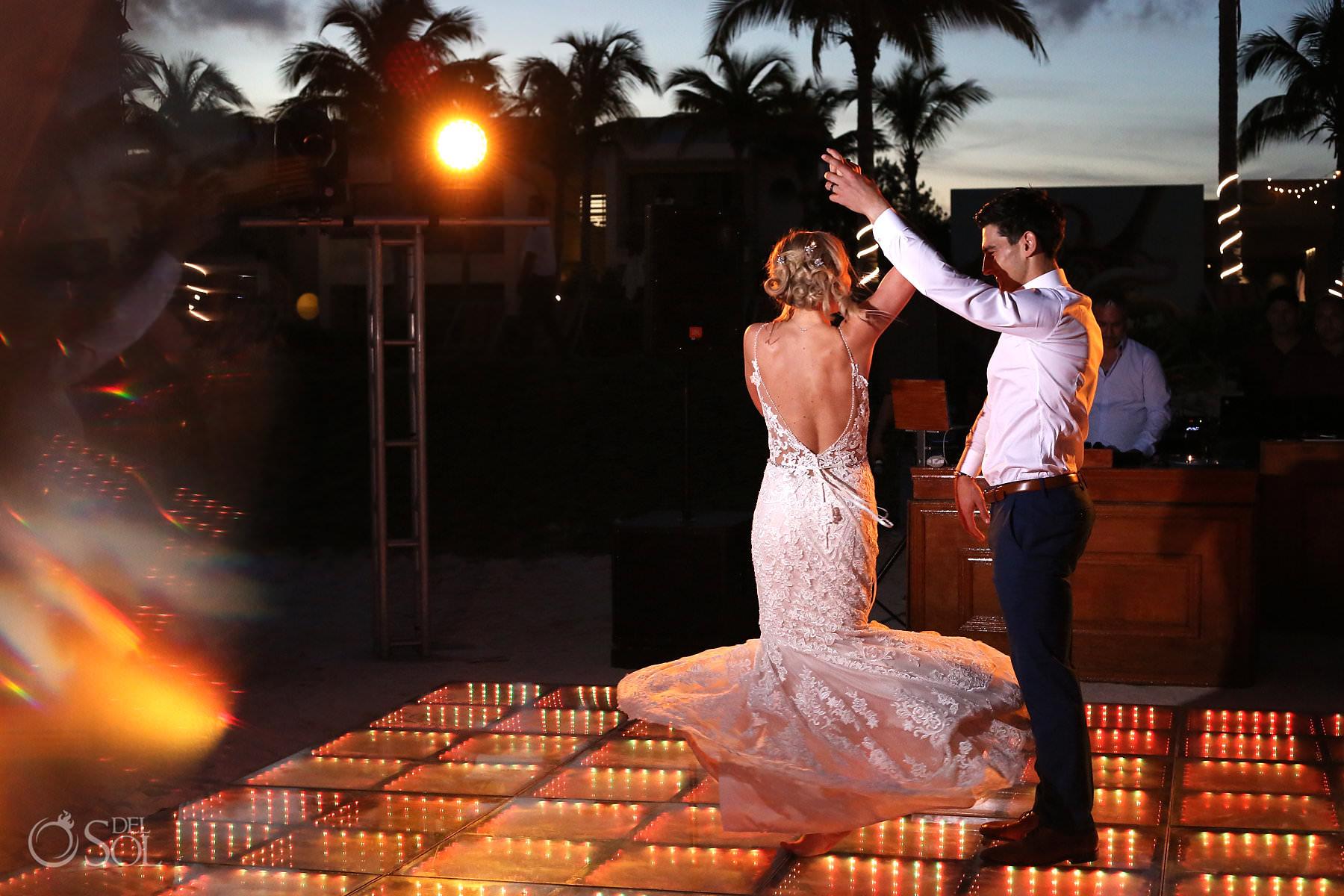 First dance Andaz Mayakoba Wedding