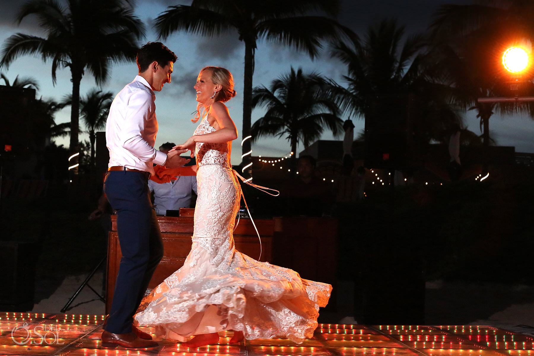 Andaz Mayakoba Wedding dance floor