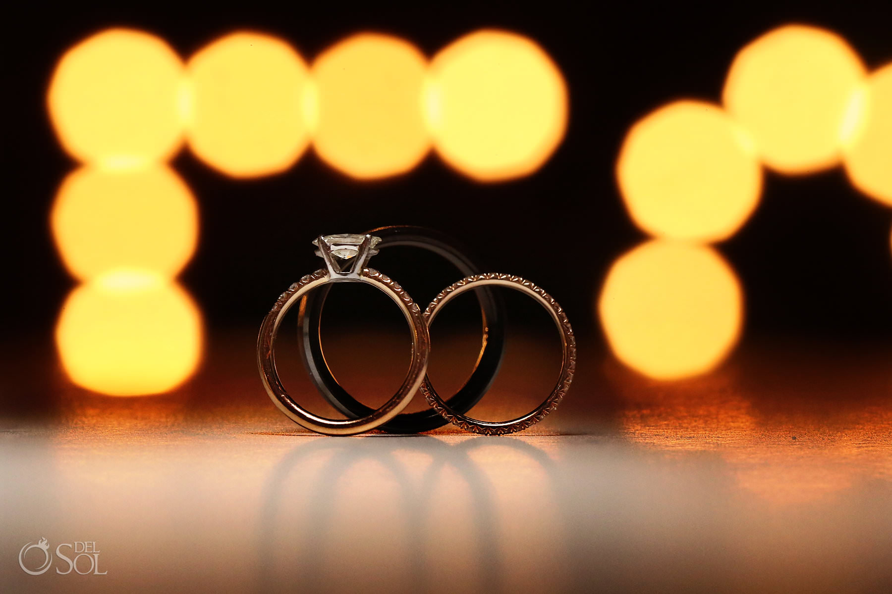 Andaz Mayakoba Wedding ring photo