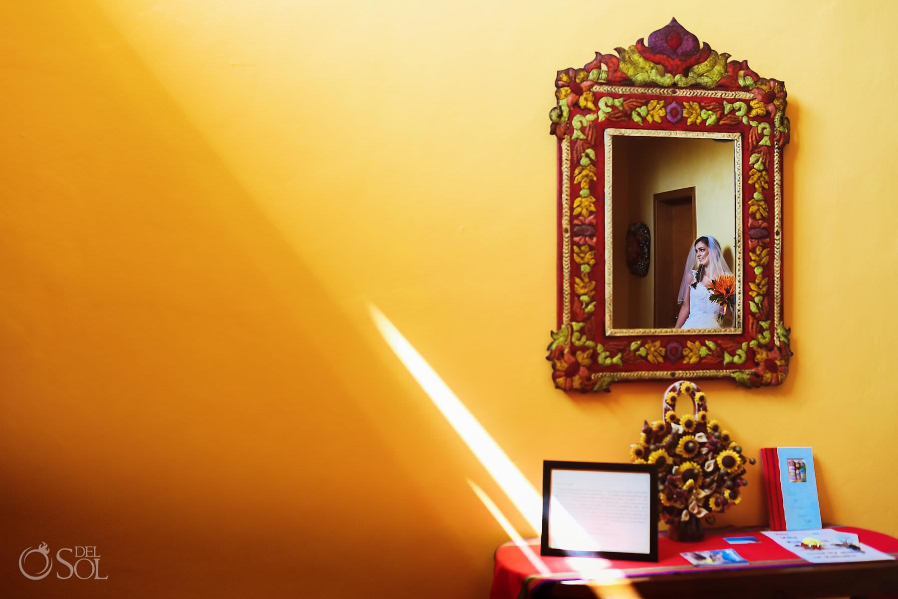 Villa de Valhalla beautiful bride mexican themed house in Akumal Mexico