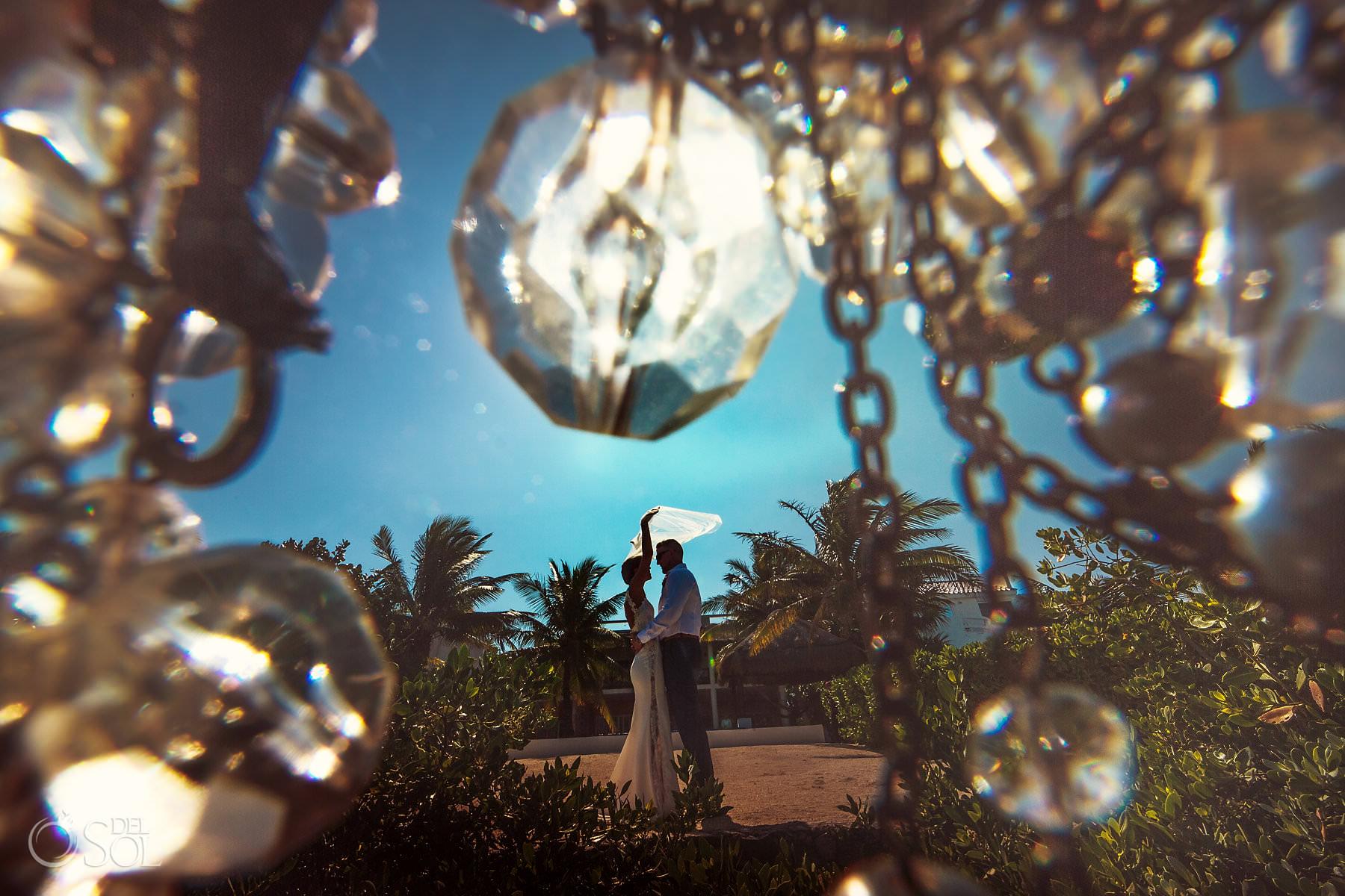 destination wedding photo akumal mexico