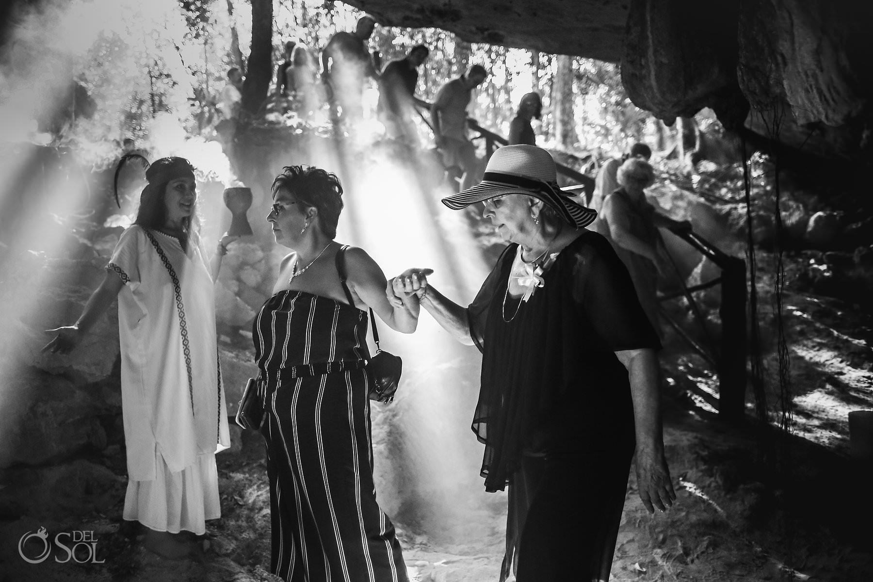 Mexico Cave Wedding Ceremony