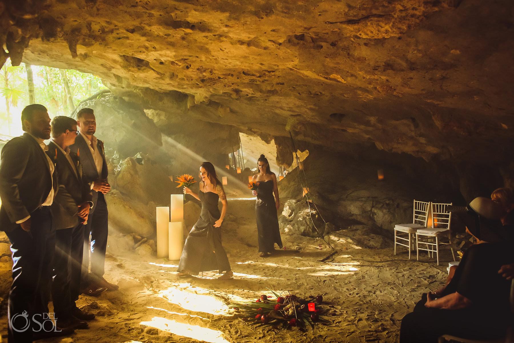 Cave Wedding Photography bridesmaids