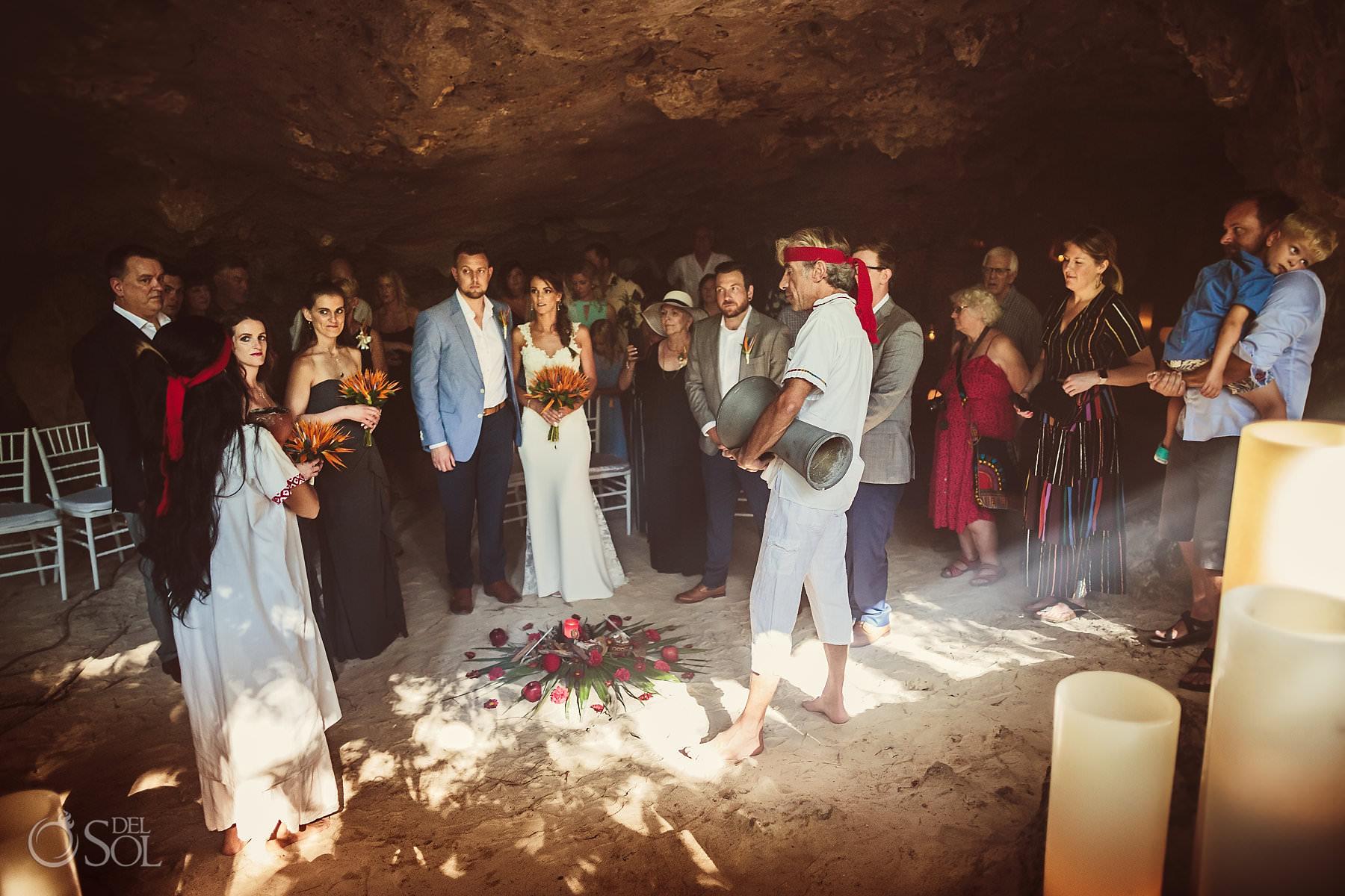 Cave Wedding Ceremony