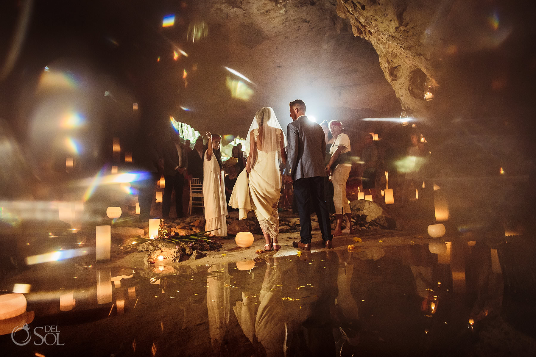 Mexican Cave Wedding photo
