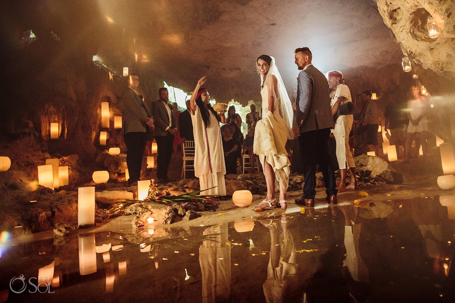 Mexico Cave Wedding