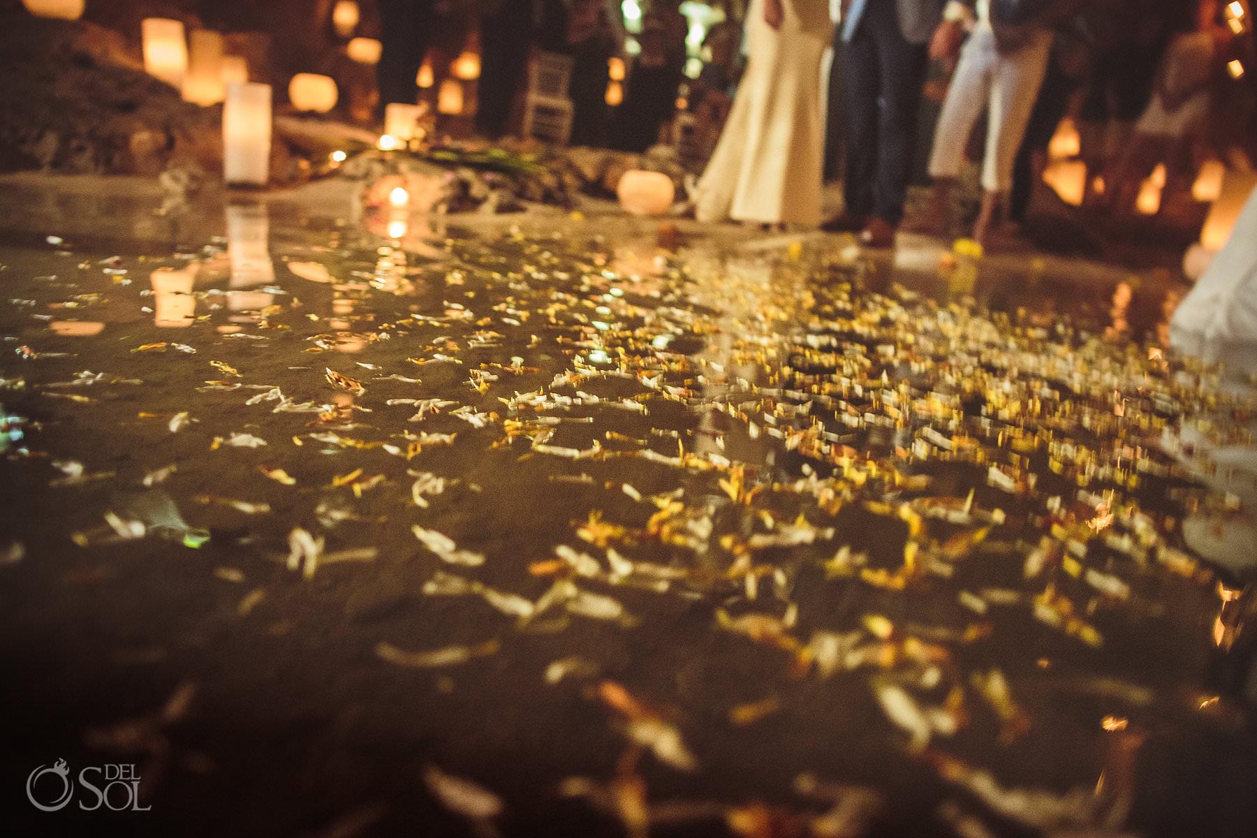 flower decoration underground wedding