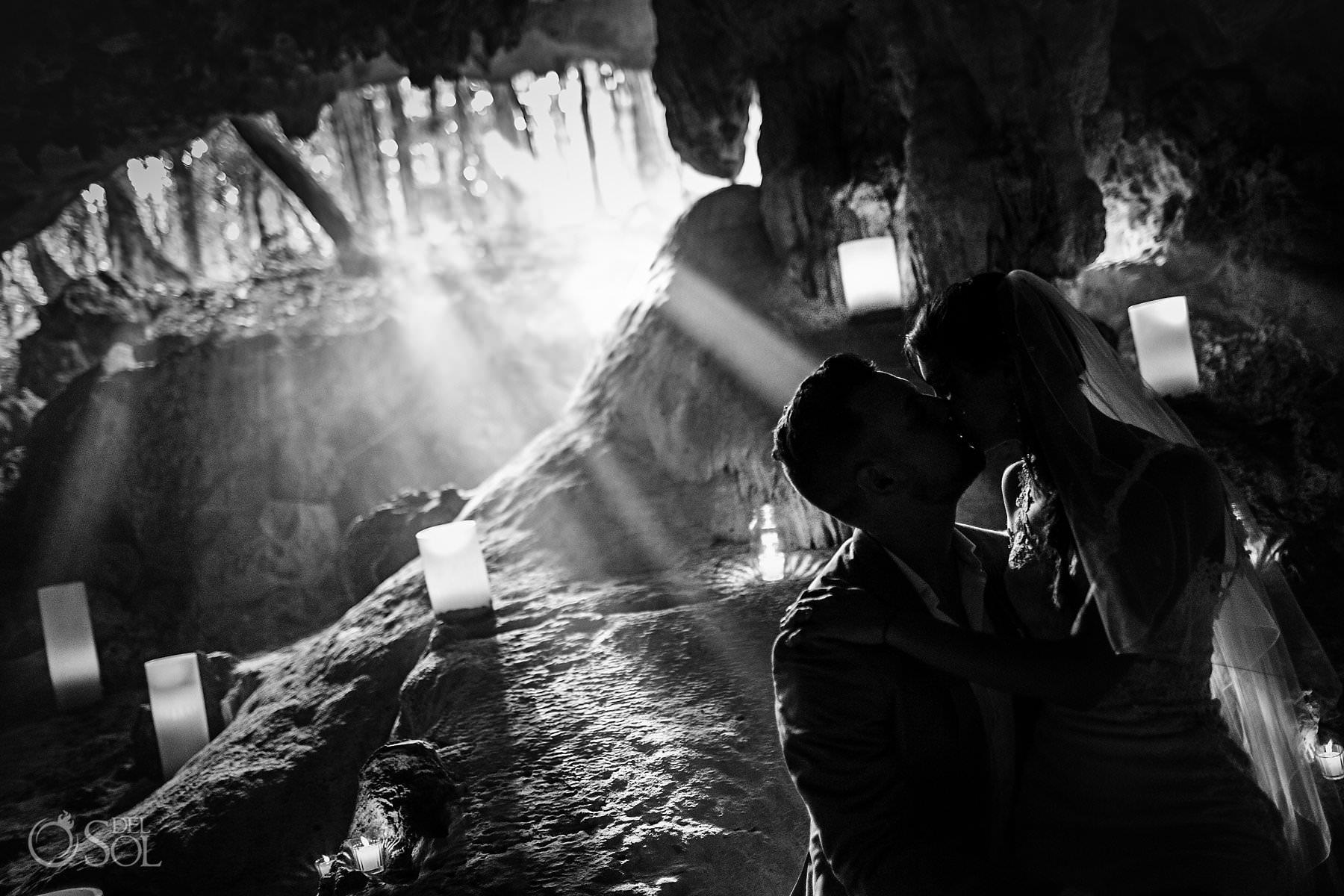 Cave Wedding Photo