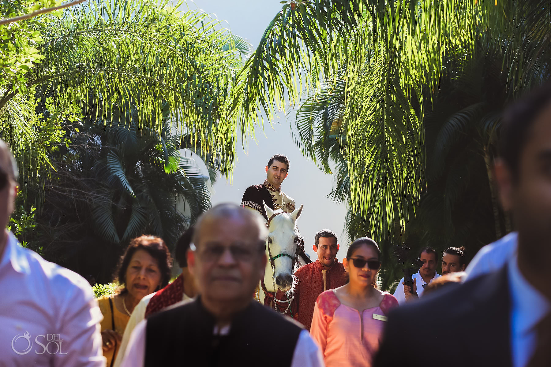 Mexico South Asian Wedding Baarat Dreams Tulum Riviera Maya Mexico