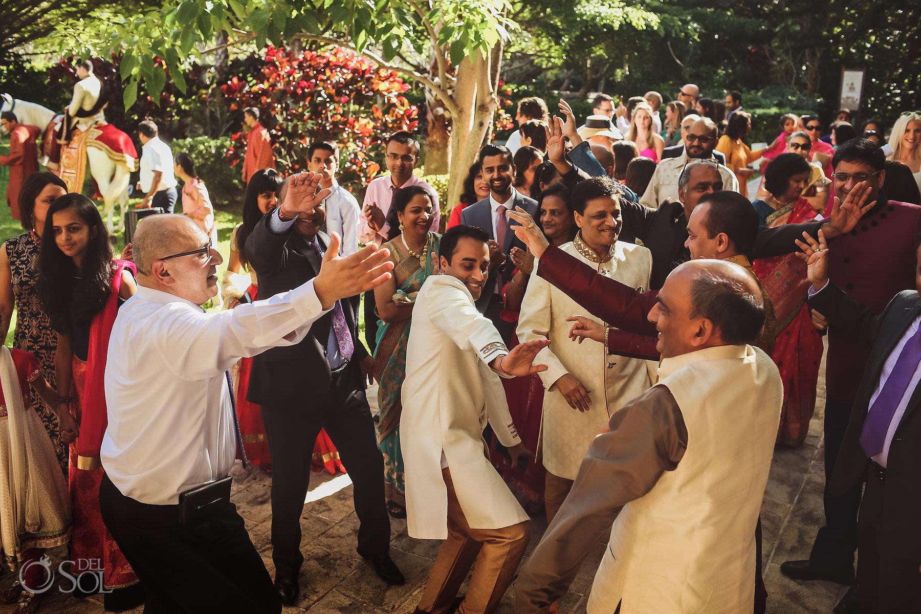 Baarat Indian wedding tradition Dreams Tulum Riviera Maya Mexico