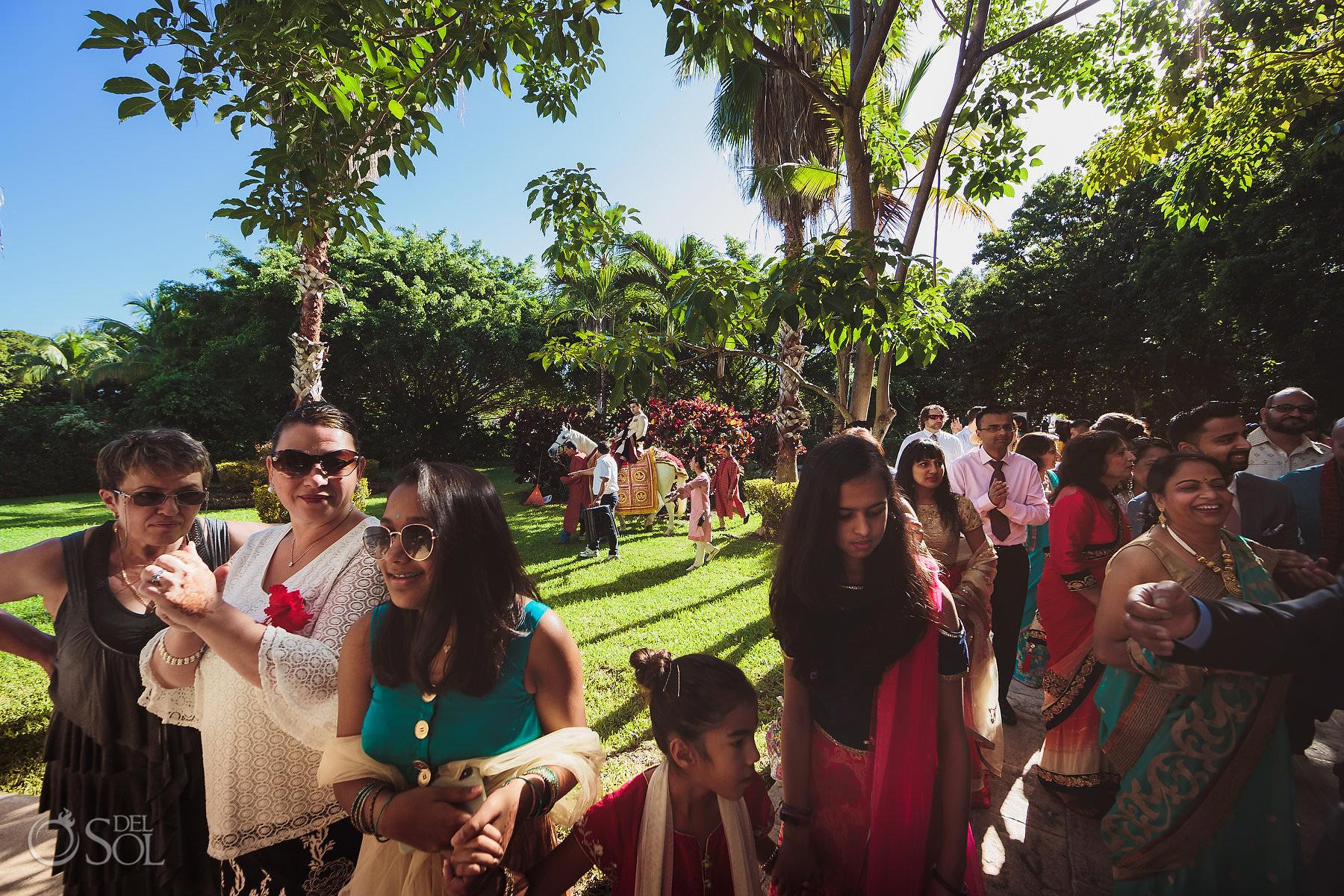 Baarat Dreams Garden Mexico South Asian Wedding Dreams Tulum Riviera Maya