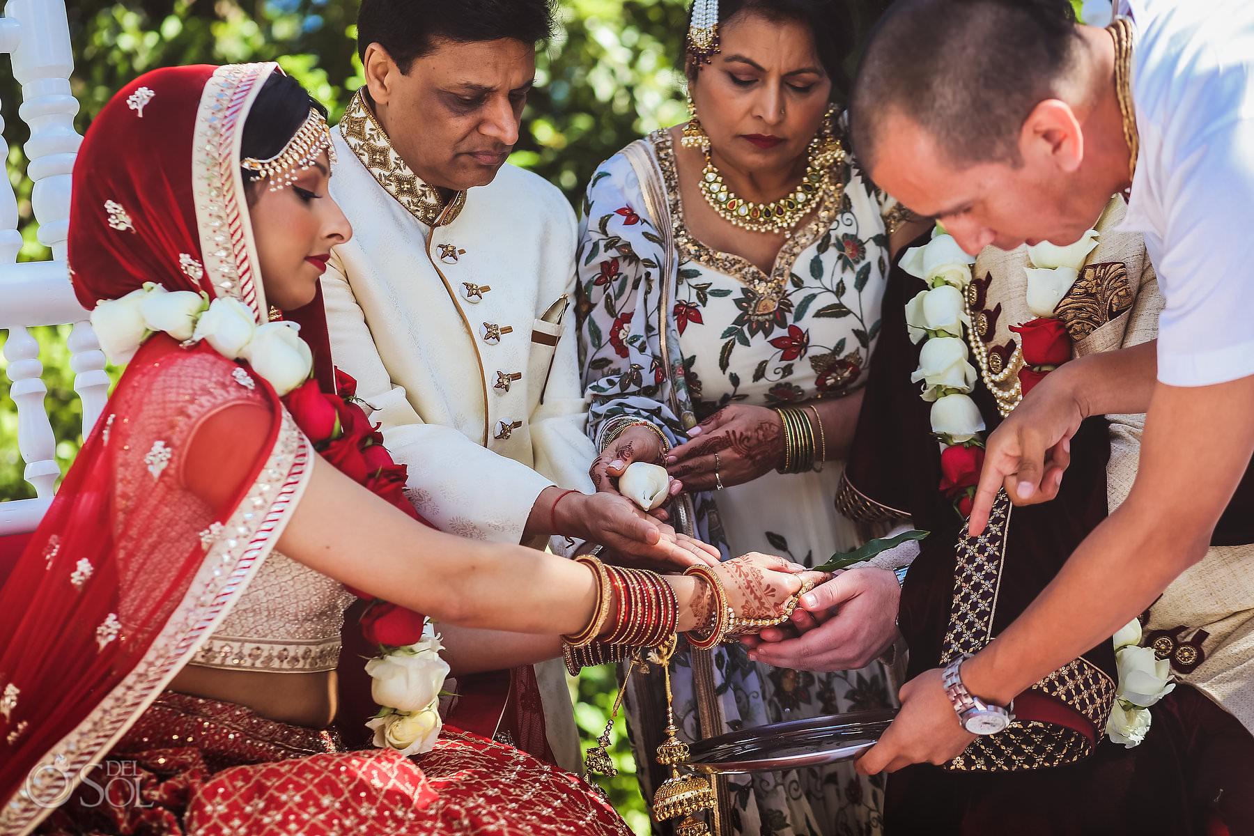 Mexico South Asian Wedding tradition Laja Homa Dreams Tulum Riviera Maya