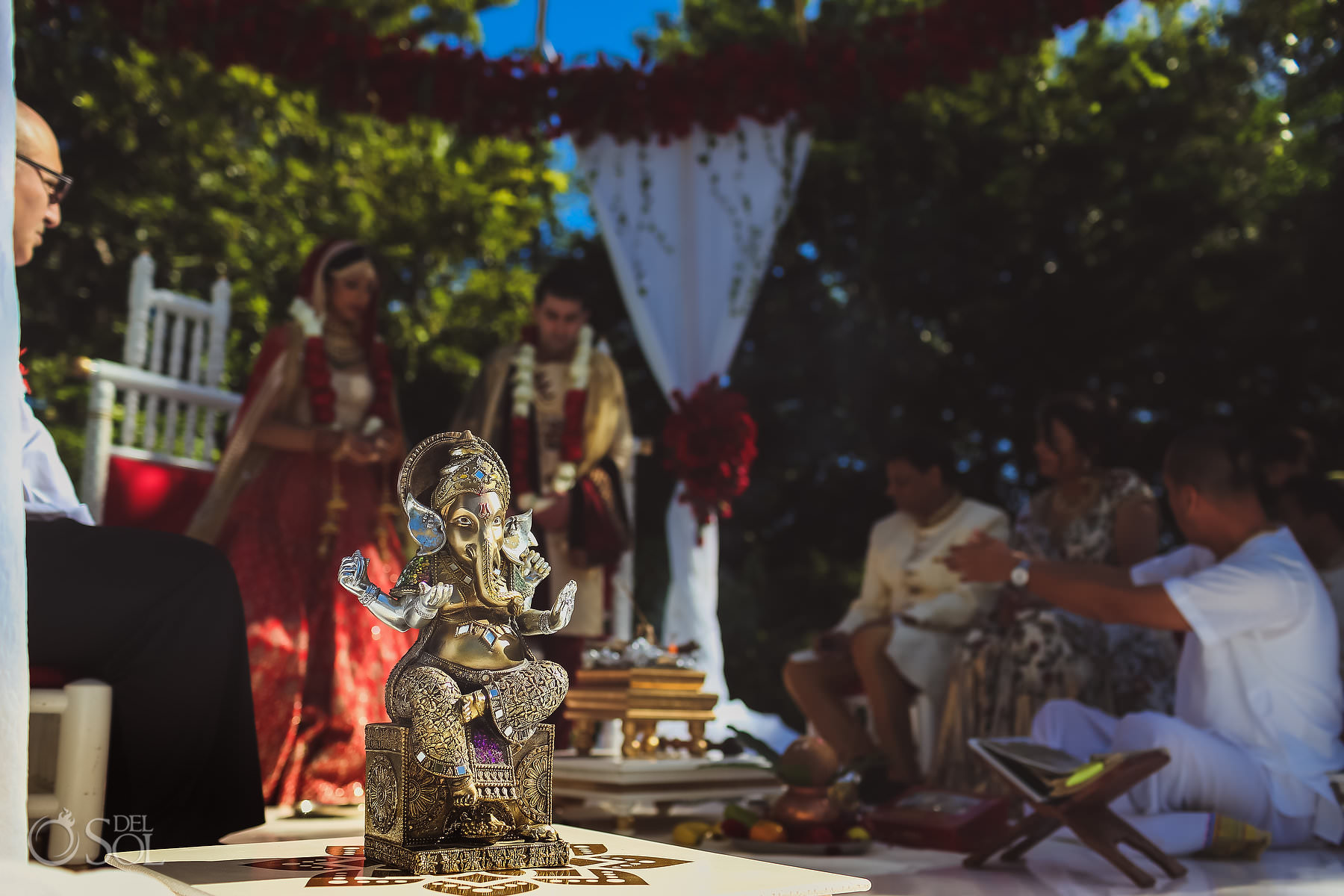 Ganesh Mexico South Asian Wedding Dreams Tulum