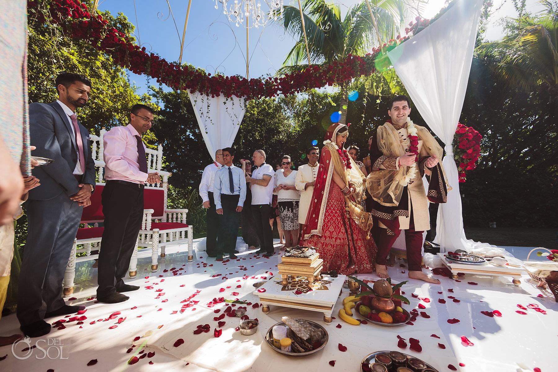 Indian Wedding dreams Garden Dreams Tulum Riviera Maya Mexico