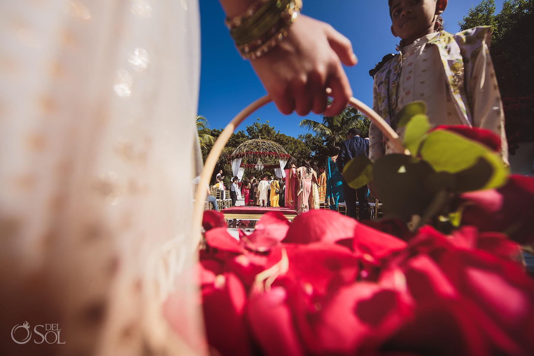 Indian Wedding Ceremony Dreams Tulum Riviera Maya
